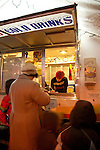 Whiffies, a fried pie cart in Portland, Oregon's SE Hawthorne district.