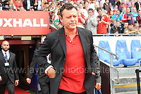 James Dean Bradfield of the Manic Street Preachers during the homecoming celebrations at the Cardiff City stadium on Friday 8th July 2016 for the Euro 2016 Wales International football squad.<br /> <br /> <br /> Jeff Thomas Photography -  www.jaypics.photoshelter.com - <br /> e-mail swansea1001@hotmail.co.uk -<br /> Mob: 07837 386244 -