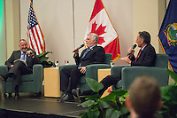 20150323 Provost Rosowsky Moderated Event with Mr. Phillipe Couillard and Gov. Shumlin