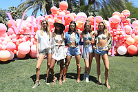 INDIO, CA - April 14: Martha Hunt, Jasmine Tookes, Alessandra Ambrosio, Josephine Skriver, Romee Strijd, At Victoria's Secret Launch &quot;Sexy Little Things&quot; At Coachella Valley  In California on April 14, 2017. <br /> CAP/MPI/FS<br /> &copy;FS/MPI/Capital Pictures