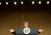 26 April 2008 - Washington, D.C. - Actor Craig Ferguson provides the enterainment during the White House Correspondents Association Dinner. Photo Credit: Kristoffer Tripplaar/ Sipa Press