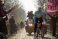 Paris-Roubaix 2012 recon..Tom Boonen