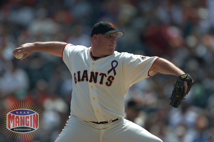Sidney Ponson. Arizona Diamondbacks vs San Francisco Giants. San Francisco, CA 9/7/2003 MANDATORY CREDIT: Brad Mangin