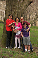 Family portrait in Riverside Park