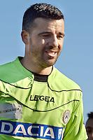 Pescara  03/03/2013: Antonio Di Natale calciatore dell'Udinese durante il riscaldamento.
