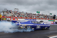 May 1, 2016; Baytown, TX, USA; NHRA pro mod driver Jim Whiteley during the Spring Nationals at Royal Purple Raceway. Mandatory Credit: Mark J. Rebilas-USA TODAY Sports