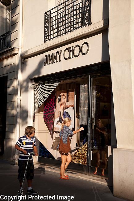 Jimmy Choo Shop in Paris, France