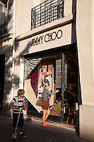 Jimmy Choo Shop in Paris, France