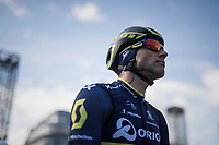 Michael Albasini (SUI/Orica-Scott) at the race start in Li&egrave;ge<br /> <br /> 103rd Li&egrave;ge-Bastogne-Li&egrave;ge 2017 (1.UWT)<br /> One Day Race: Li&egrave;ge &rsaquo; Ans (258km)