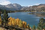 June Lake in autumn