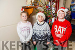 At the Moyderwell Primary School  Christmas Concert on Monday were Ava Sugrue, Robert Balog, Eoin Walsh