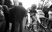 Milan-San Remo 2012.raceday.Frederik Willems to the sign-in.