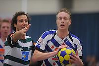 KORFBAL: HEERENVEEN: 15-11-2014, KV Heerenveen 1 - KVZ 1, (#12), ©foto Martin de Jong