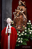 Pope Francis solemnity of Saints Peter and Paul at St Peter's basilica in Vatican.June 29,2016