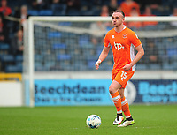 Blackpool's Tom Aldred<br /> <br /> Photographer Kevin Barnes/CameraSport<br /> <br /> The EFL Sky Bet League Two - Wycombe Wanderers v Blackpool - Saturday 11th March 2017 - Adams Park - Wycombe<br /> <br /> World Copyright &copy; 2017 CameraSport. All rights reserved. 43 Linden Ave. Countesthorpe. Leicester. England. LE8 5PG - Tel: +44 (0) 116 277 4147 - admin@camerasport.com - www.camerasport.com