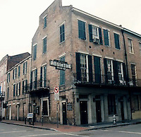 old Absinthe house bar on Conti st. and Bourbon st.