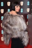 Noomi Rapace at the 2017 EE British Academy Film Awards (BAFTA) held at The Royal Albert Hall, London, UK. <br /> 12 February  2017<br /> Picture: Steve Vas/Featureflash/SilverHub 0208 004 5359 sales@silverhubmedia.com