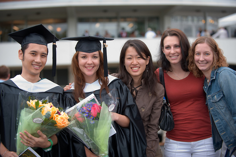 19879Graduate Commencement: Ohio University 2009 ...Woranon Seetachalaphorn, Ella Datsenko, Aki Tanaka, Elissa Bookbinder and Andrea Jonhannes