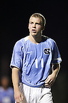 Ben Hunter, of UNC, on Tuesday October 4th, 2005 at Fetzer Field on the campus of the University of North Carolina Chapel Hill in Chapel Hill, North Carolina. The UNC Tarheels defeated the Elon University Phoenix 2-1 after overtime in an NCAA Division I Men's Soccer game.