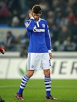 FUSSBALL   1. BUNDESLIGA   SAISON 2011/2012   20. SPIELTAG FC Schalke 04 - FSV Mainz 05                                  04.02.2012 Klaas Jan Huntelaar (FC Schalke 04)