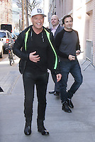 Howie Mandel Arrives at The View