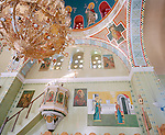 Greek Orthodox church on the island of Nisyros, Dodecanese islands, Greece