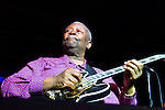 B.B. King performs at the PAETEC Jazz Festival in Baltimore, MD on Saturday, August 11, 2007.