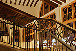 USA, Florida, Orlando. Interior lines and angles at Rosen Shingle Creek Resort.