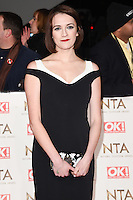 Charlotte Ritchie at the National TV Awards 2017 held at the O2 Arena, Greenwich, London. <br /> 25th January  2017<br /> Picture: Steve Vas/Featureflash/SilverHub 0208 004 5359 sales@silverhubmedia.com