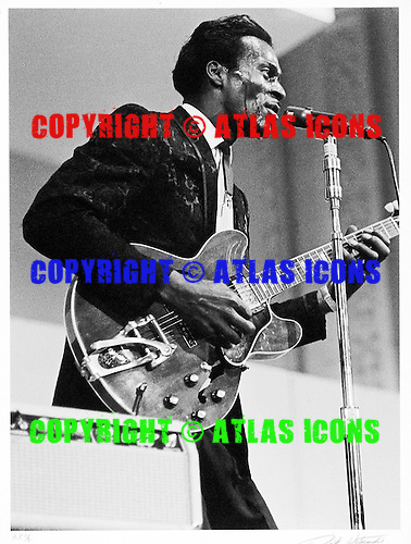 CHUCK BERRY, LIVE, 1965, DICK WATERMAN