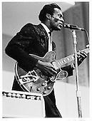 CHUCK BERRY, LIVE, 1965, DICK WATERMAN