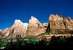 UT: Utah; Zion National Park,    .Photo Copyright: Lee Foster, lee@fostertravel.com, www.fostertravel.com, (510) 549-2202.Image: utzion206.
