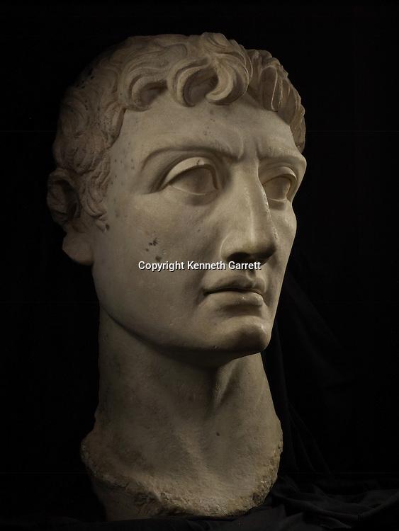 Last Pharaohs,  MM7836,  Egypt, Greco Roman Museum, Augustus, Roman Emperor, Marble