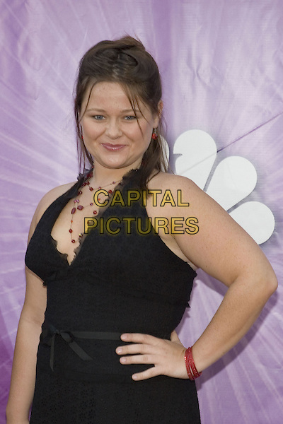 25 July 2005 - Los Angeles, California - Amy Halloran.  2005 NBC Network All Star Celebration Arrivals held at the Century Club.  Photo Credit: Zach Lipp/AdMedia