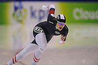 SCHAATSEN: HEERENVEEN: 12-12-2014, IJsstadion Thialf, ISU World Cup Speedskating, Vanessa Bittner (AUT), ©foto Martin de Jong