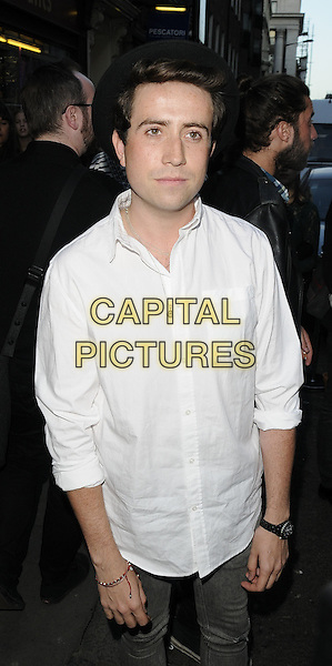 NICK GRIMSHAW .At the opening of the Acne London Studio, Dover Street, London, England, UK, July 15th 2010..half length white shirt black hat.CAP/CAN.©Can Nguyen/Capital Pictures.