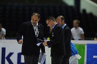 SCHAATSEN: HEERENVEEN: 31-08-2013, Thialf IJsstadion Thialf, Shorttrack Invitation Cup, copyright Martin de Jong
