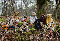 BNPS.co.uk (01202 558833)<br /> Pic: SAS/BNPS<br /> <br /> One woman's epic collection of more than 600 teddy bears is expected to fetch &pound;40,000 when it goes under the hammer.<br /> <br /> The late Yvonne Crompton amassed 635 bears, as well as teddy ornaments and pictures, over 50 years of collecting and had many limited edition models.<br /> <br /> Her vast collection filled a whole room from floor-to-ceiling at her five-bedroom family home in Wimbledon, south west London.<br /> <br /> Mrs Crompton spent decades scouring car boot sales, antique fairs and specialist exhibitions for her bears, which her husband Rufus would also often buy her as presents.