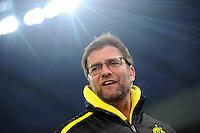 FUSSBALL   1. BUNDESLIGA   SAISON 2012/2013    20. SPIELTAG Bayer 04 Leverkusen - Borussia Dortmund                  03.02.2013 Trainer Juergen Klopp (Borussia Dortmund)