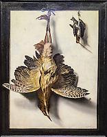 Belgique, Flandre Occidentale, Bruges, partie méridionale du centre historique classé Patrimoine Mondial de l'UNESCO,,   Musée Groeninge  Nature Morte aux Oiseaux Morts - Frans vaan Cuyck de Myerhop Brugge 1640 Gent 1689