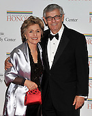 Washington, DC - December 5, 2009 -- United States Senator Barbara Boxer (Democrat of California) and her husband, Stewart Boxer arrive for the formal Artist's Dinner at the United States Department of State in Washington, D.C. on Saturday, December 5, 2009..Credit: Ron Sachs / CNP.(RESTRICTION: NO New York or New Jersey Newspapers or newspapers within a 75 mile radius of New York City)