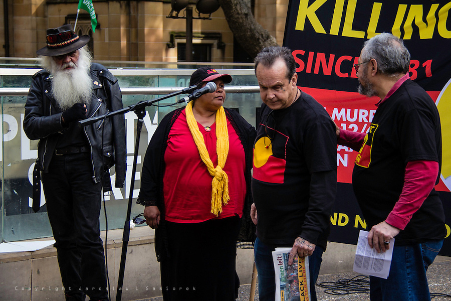 34 years and still no justice, Sydney Town Hall 13.06.15
