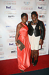 Jocelyn Taylor Wearing Viscera by Sherita Jennings and Designer Sherita Jennings Attend the 7th Annual Evidence Gala...A Breath of Spring Hosted by Law & Order Actress Tamara Tunie and Jazz Vocalist Gregory Generet Held at The Grand Ballroom at Manhattan Center, NY 4/12/2011