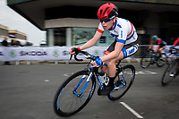 Picture by Alex Whitehead/SWpix.com - 11/05/2017 - Cycling - Tour Series Round 2, Stoke-on-Trent - Matrix Fitness Grand Prix Series - WNT's Eileen Roe