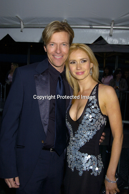 Jack Wagner and Ashley Jones ..arriving at The 32nd Annual Daytime ...