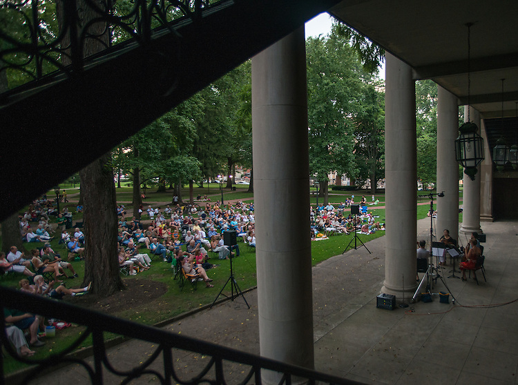 Ohio University' School of Music and the Juniper Music Fextival present music inspired by the spirit of Wolfgang Amadeus Mozart at a free concert on College Green.