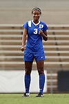 21 August 2015: Duke's Imani Dorsey. The Duke University Blue Devils played the Fresno State Bulldogs at Fetzer Field in Chapel Hill, NC in a 2015 NCAA Division I Women's Soccer game. Duke won the game 5-0.