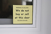 We do not buy or sell at this door