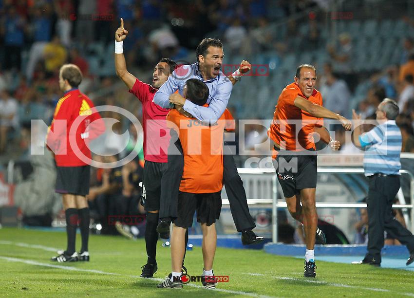 Madrid(26/08/2012).- Coliseum Alfonso Perez..Liga BBVA, Jornada n&ordm;2..Getafe - Real Madrid..Luis Garcia...Photo: Alex Cid-Fuentes / ALFAQUI.. /NortePhoto.com<br /> <br /> **CREDITO*OBLIGATORIO** <br /> *No*Venta*A*Terceros*<br /> *No*Sale*So*third*<br /> *** No*Se*Permite*Hacer*Archivo**<br /> *No*Sale*So*third*