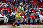 18 February 2017: Notre Dame's V.J. Beachem. The North Carolina State University Wolfpack hosted the University of Notre Dame Fighting Irish at the PNC Arena in Raleigh, North Carolina in a 2016-17 Division I Men's Basketball game. Notre Dame won the game 81-72.